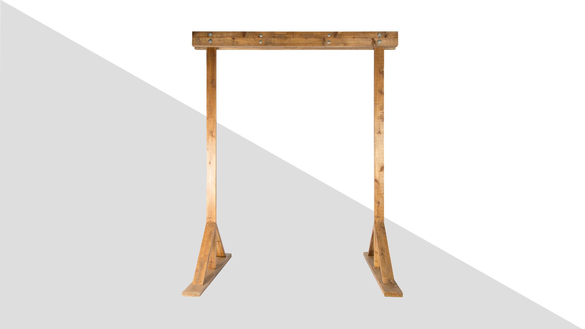 Скачать модель конструкции деревянной свадебной арки без декора «Рустик1» для работы вфотошопе