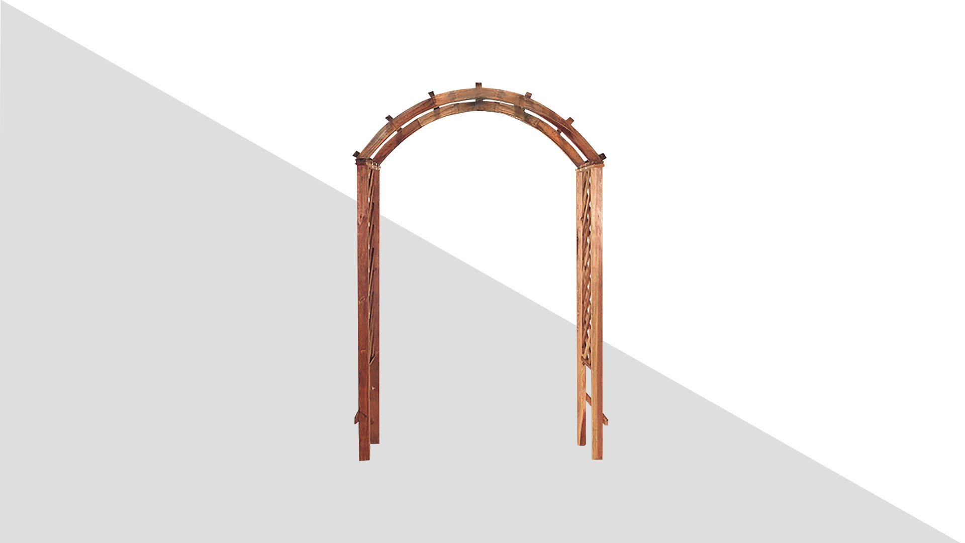Скачать модель конструкции деревянной арки «Садовый стиль1» для работы вфотошопе
