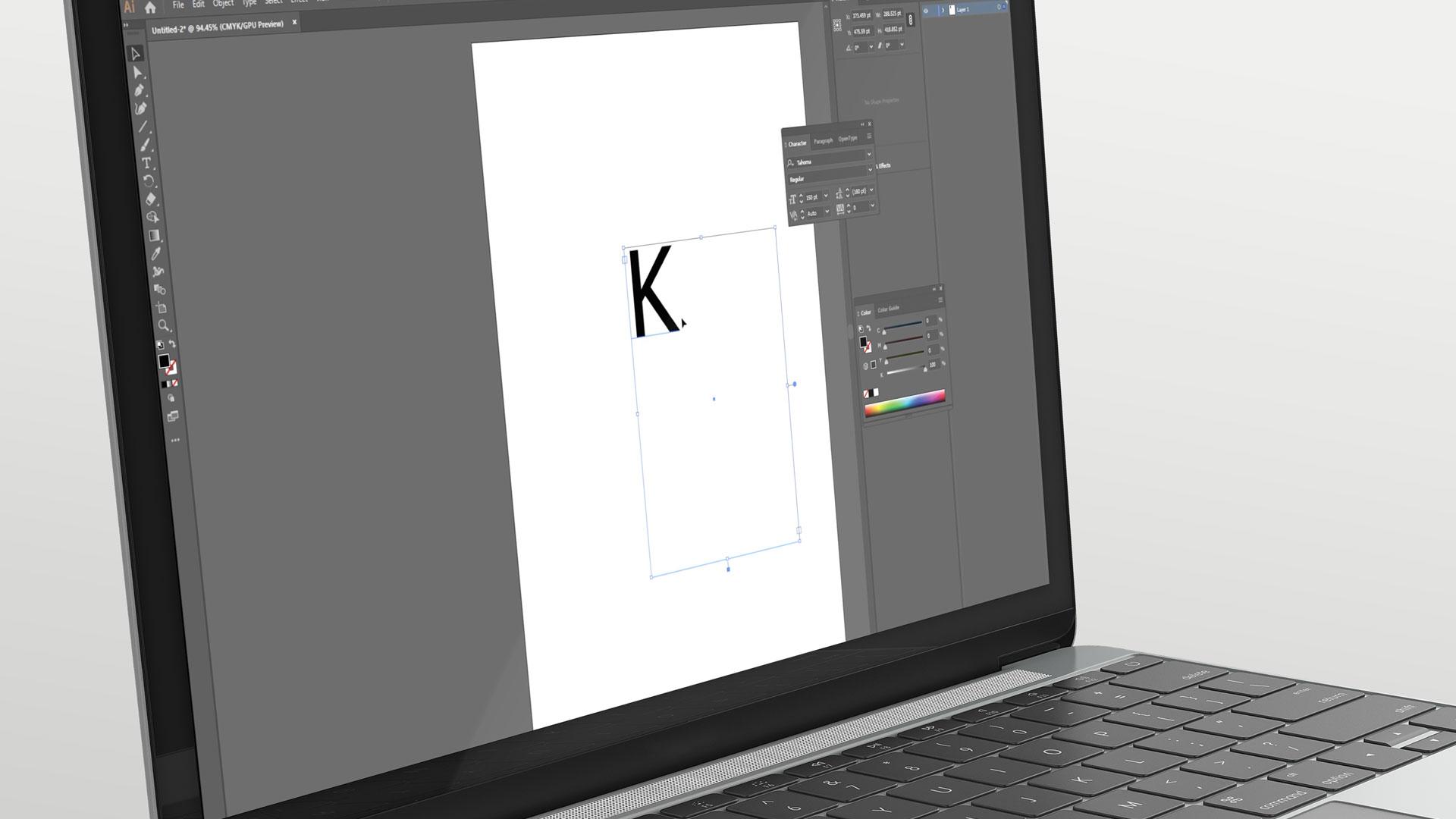Видео мастер-класс «Как сделать макет для лазерной резки буквы»