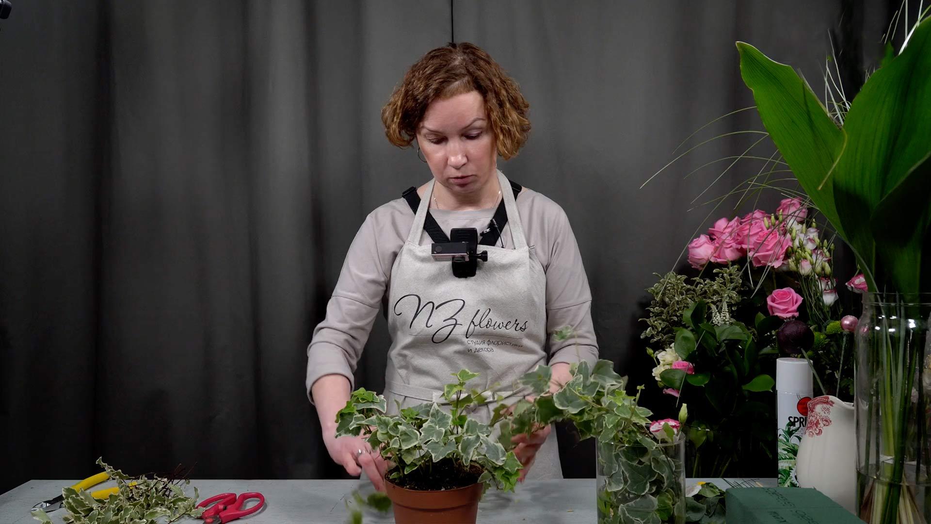Видео мастер-класс «Подготовка цветов кработе»