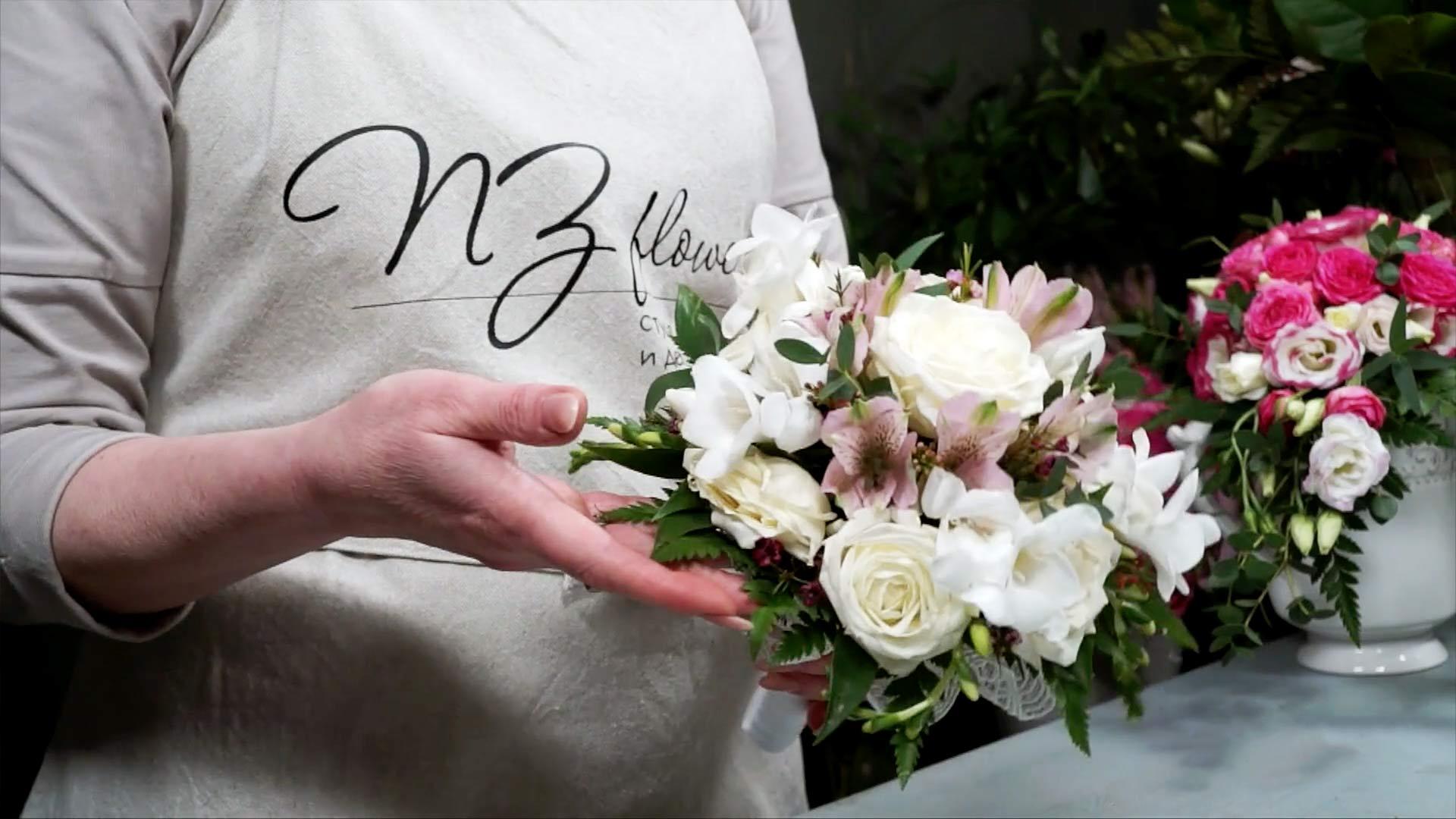 Видео мастер-класс «Как заказать цветы нафлористической базе»