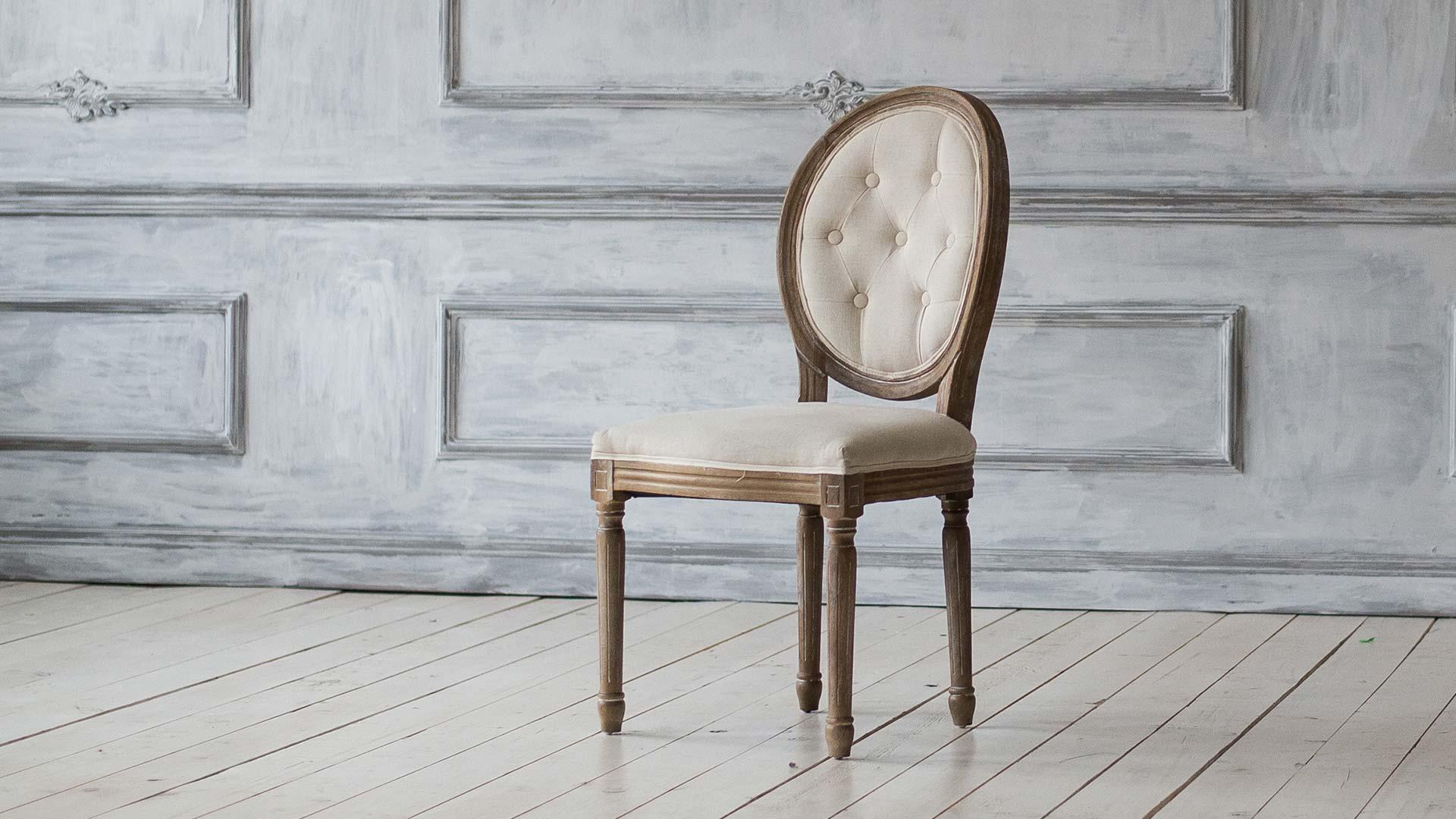 Как нарисовать стул скруглой спинкой
