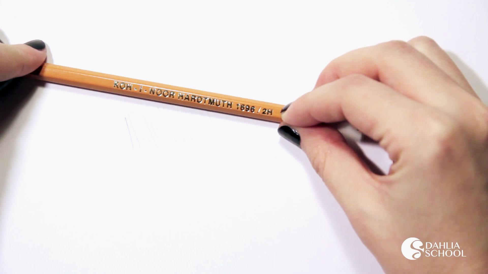 Как выбрать карандаш для эскиза декора
